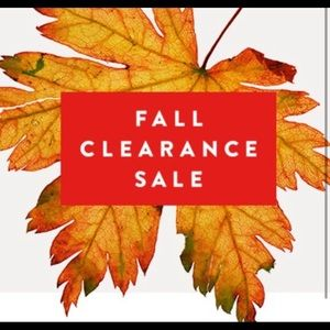 Tops - Fall Clearance Sale - Closet Clear Out!